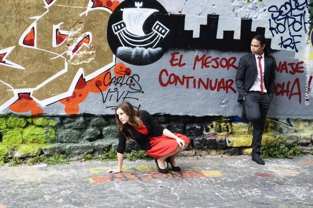 Morgane Quiguer et Louie Talents